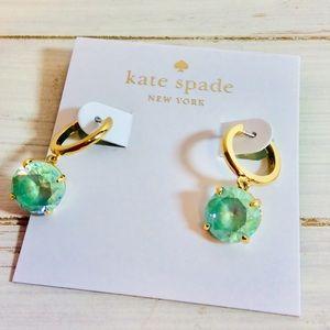 Kate Spade Sea Foam Green Earrings